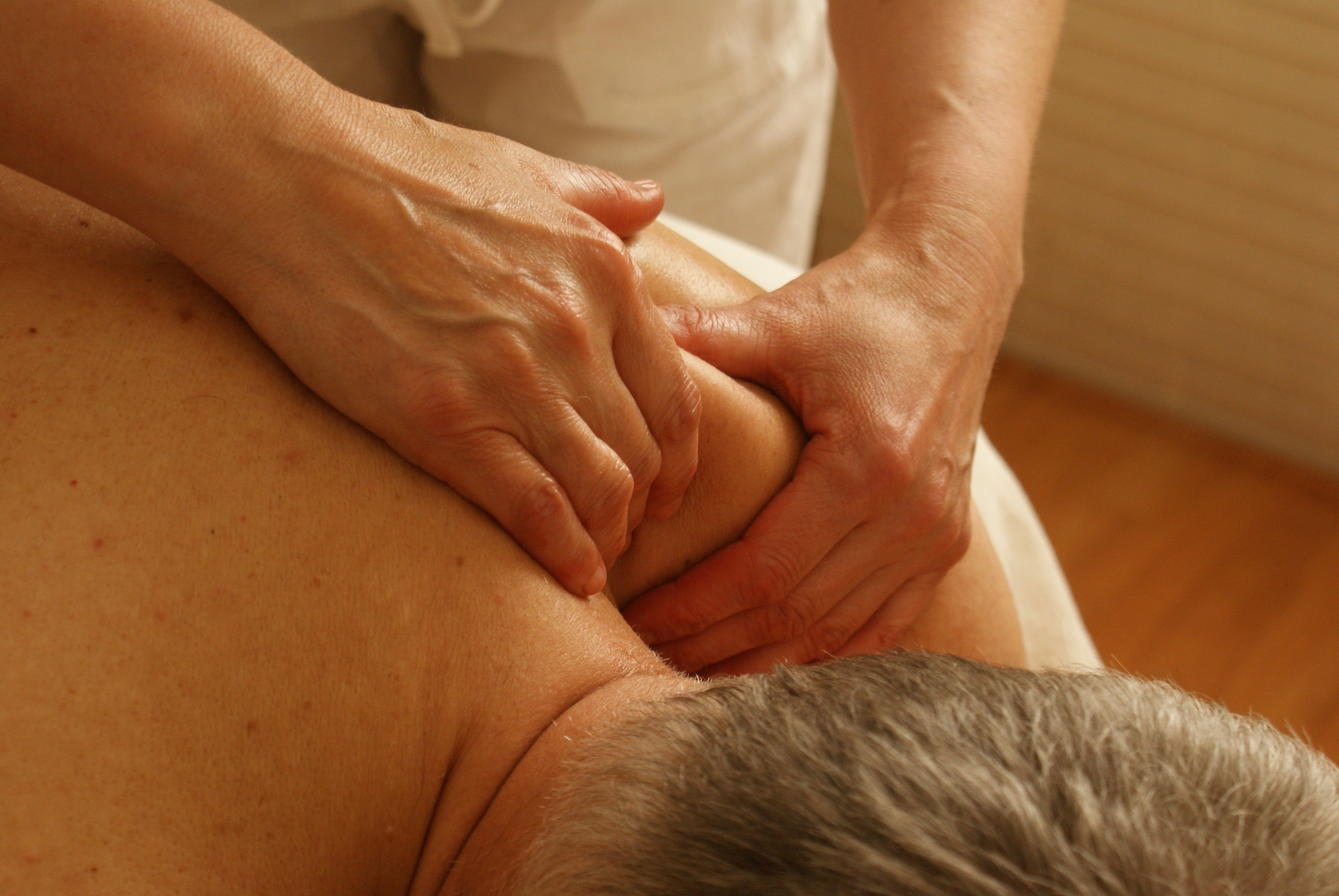 Back And Shoulders Massage