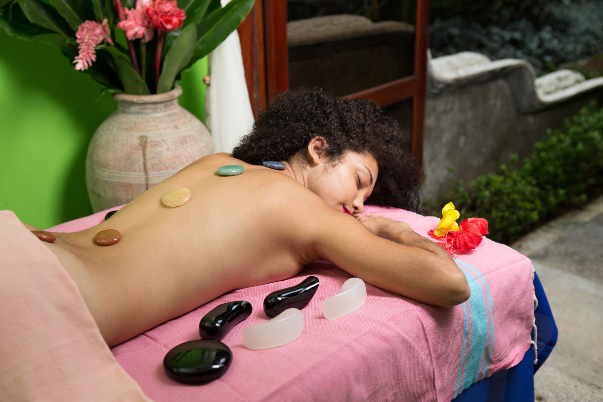 Chakras Balance Stone Massage